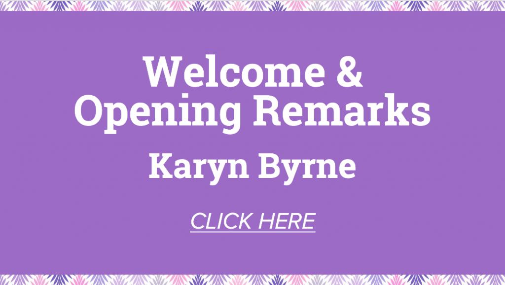 welcome from Karyn Byrne