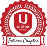 Unifor 707 - Retiree Chapter Logo